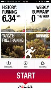 Polar Beat App Screenshot