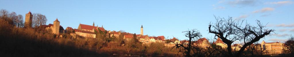 Rothenburg im Sonnenschein
