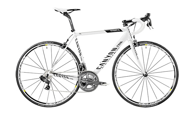 Mein Rennrad und Ich (Canyon Ultimate AL 9.0 DI2 CT 2012)