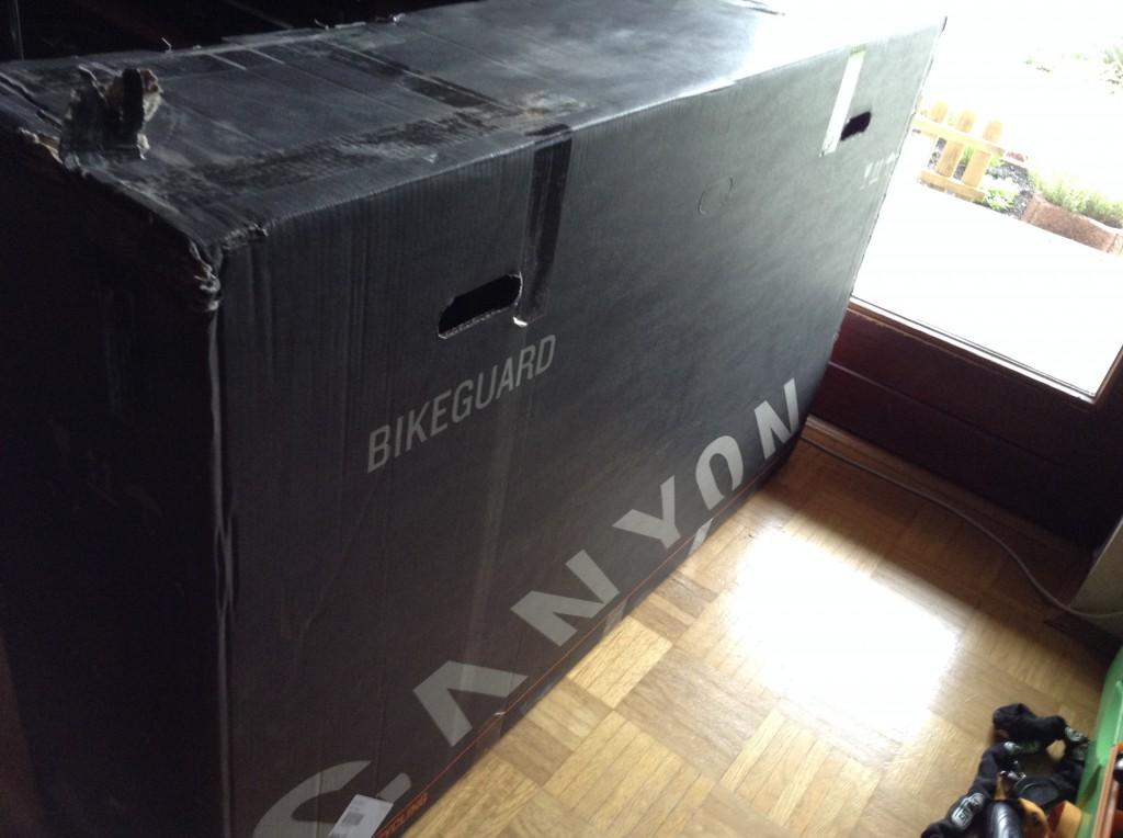 BikeGuard - In voller Lebensgröße