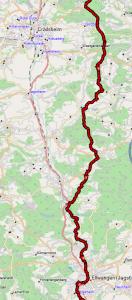 Abschnitt Ellwanger Berge