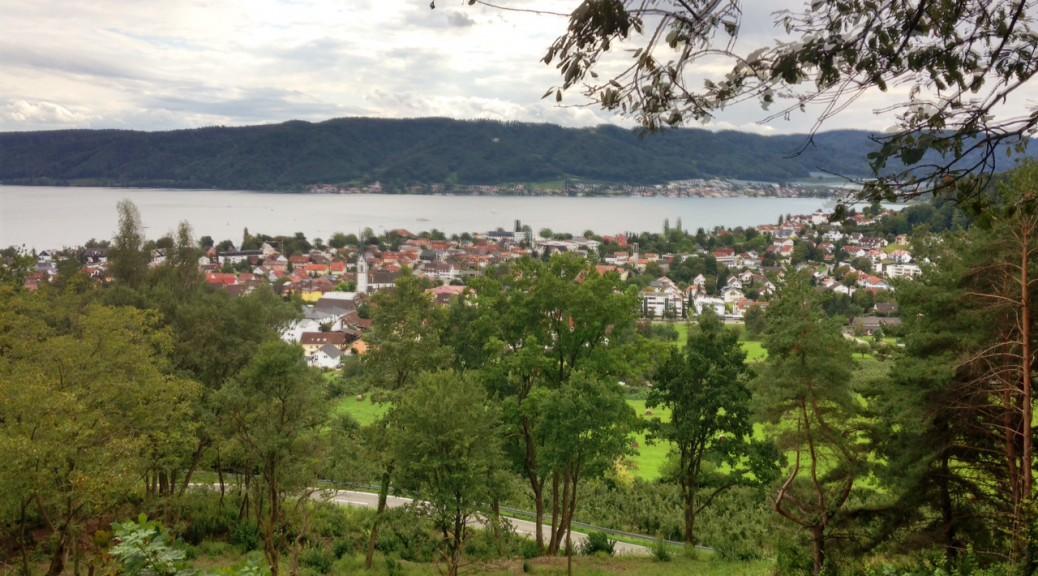 Ludwigshafen und Blick auf den Bodensee