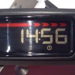 Garmin Vivofit - Uhrzeit