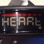 Garmin Vivofit - Herzfrequenz