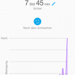 Garmin Connect App - Schlaf