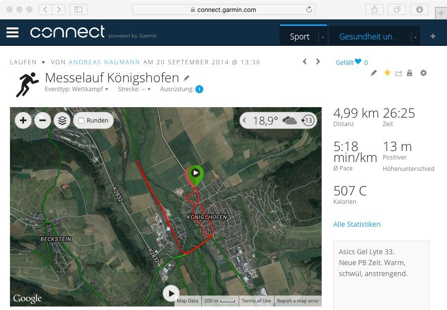 Messelauf Königshofen - 5K
