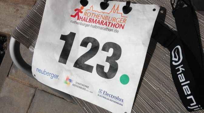 Rothenburg Halbmarathon – 10K – 2015