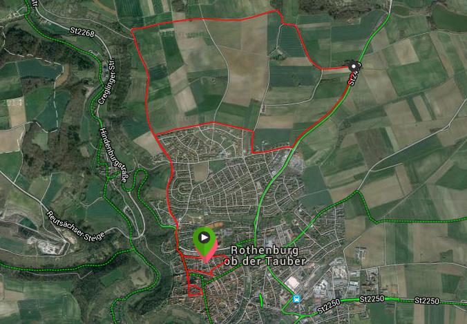 Streckenverlauf 10K