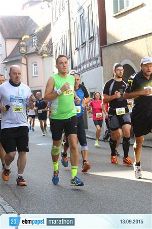 ebmpapast | marathon - Auf dem ersten Kilometer